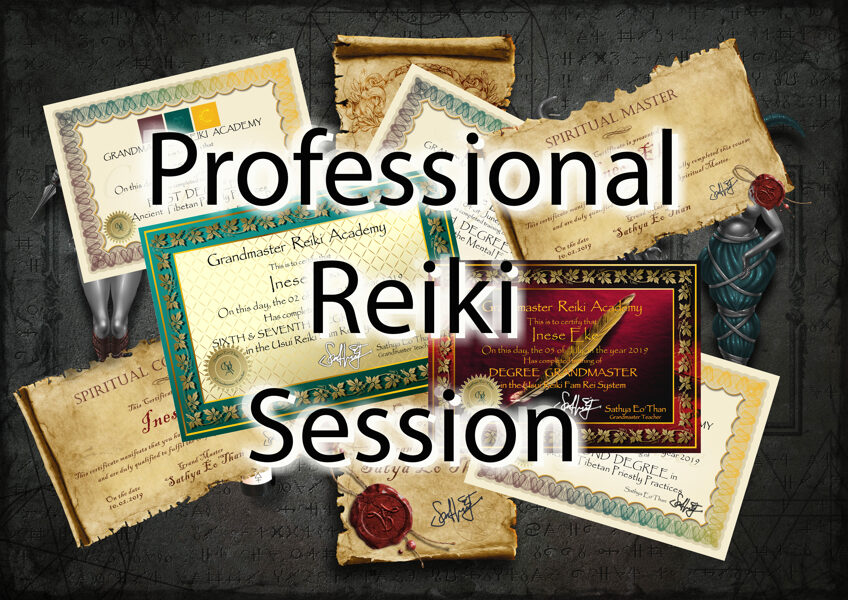 Professional Distance Reiki Healing Session online